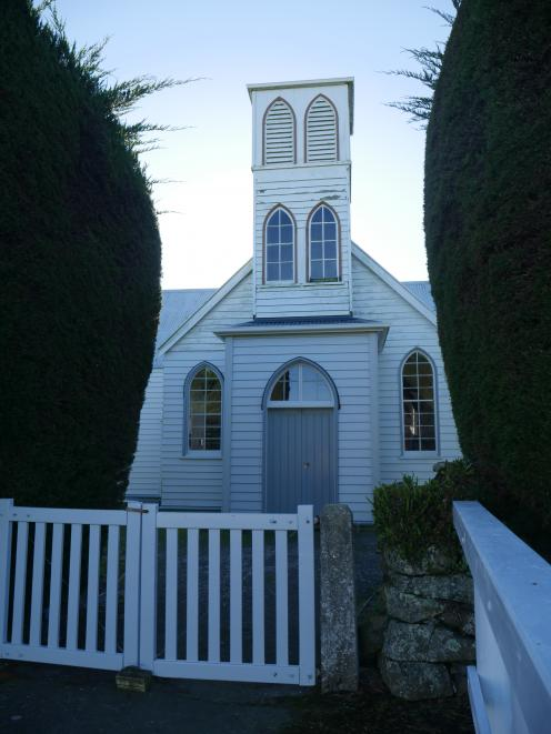 The Otago Community Trust has given $65,000 towards restoring the Pukehiki church, in Highcliff...