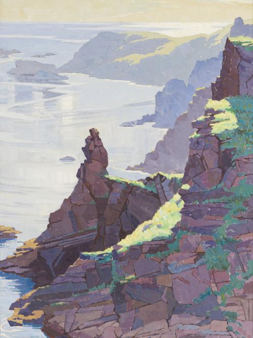 Isle of Brechou, Sark, by Rhonda Haszard (1901-1931). Photo: Collection of the Dunedin Public Art...