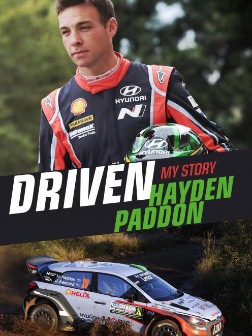 Driven, By Hayden Paddon, published by Penguin Random House NZ, RRP$40