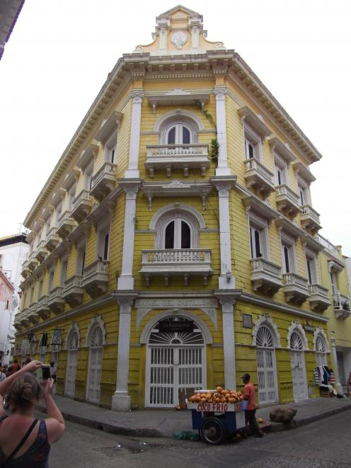 Rafael del Castillo building in Cartagena.