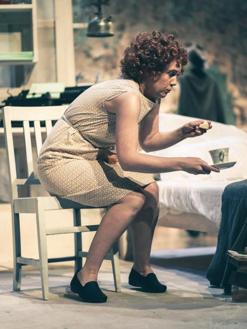Sophie Hambleton as Janet Frame in the Fortune Theatre's production of Gifted in 2013. Photo: Jake Metzger