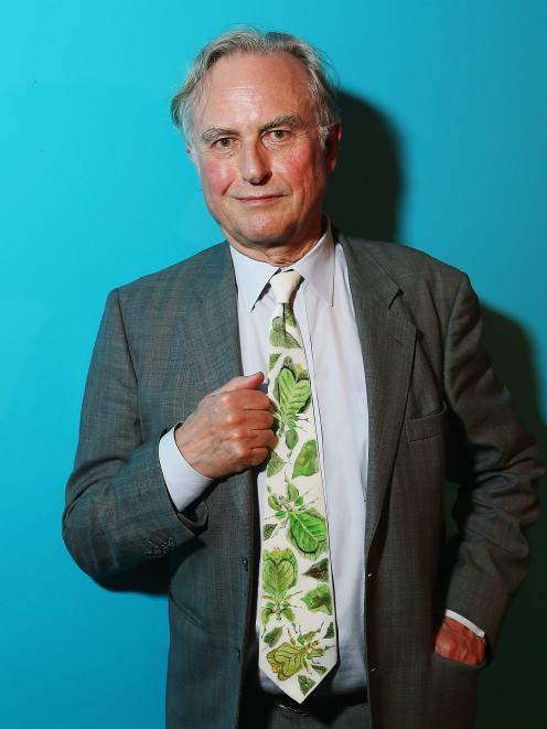 Prof Gosler credits Prof Richard Dawkins (pictured) for piquing his interest in Christianity....