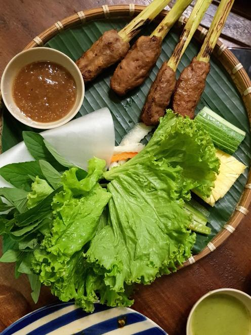 Beef patties with citronella. Photo: Supplied.
