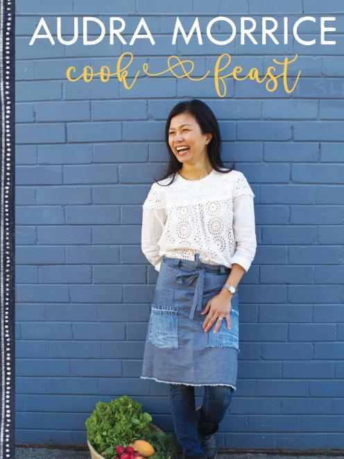 Cook & Feast, by Audra Morrice, published by Landmark Books, RRP$39.99.