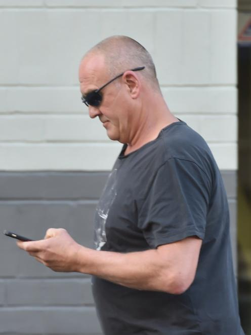 Graeme Lowery (54) is accused of stabbing an 11-month-old sea lion to death. Photo: Staff Photographer