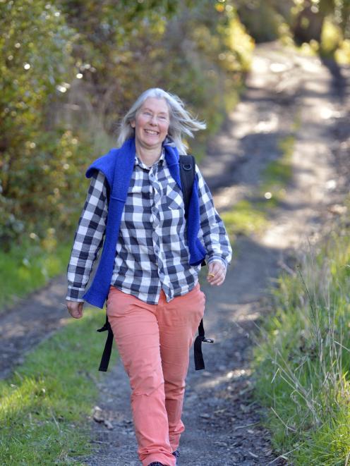 Walker Charlotte Flaherty, of Liberton, Dunedin. Photo: Gerard O'Brien