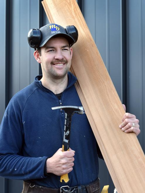 Former Otago cricketer Ryan Duffy has switched from  willow bats to cedar weatherboards and will...