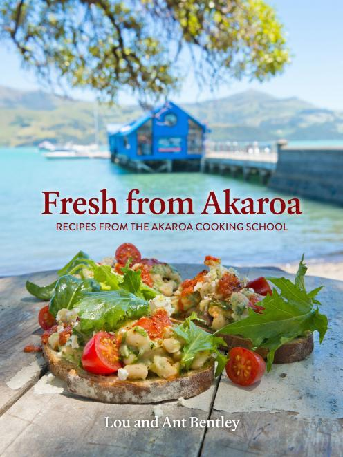 Fresh from Akaroa: Recipes from the Akaroa Cooking School, by Lou and Ant Bentley, published by Penguin NZ, RRP $50.