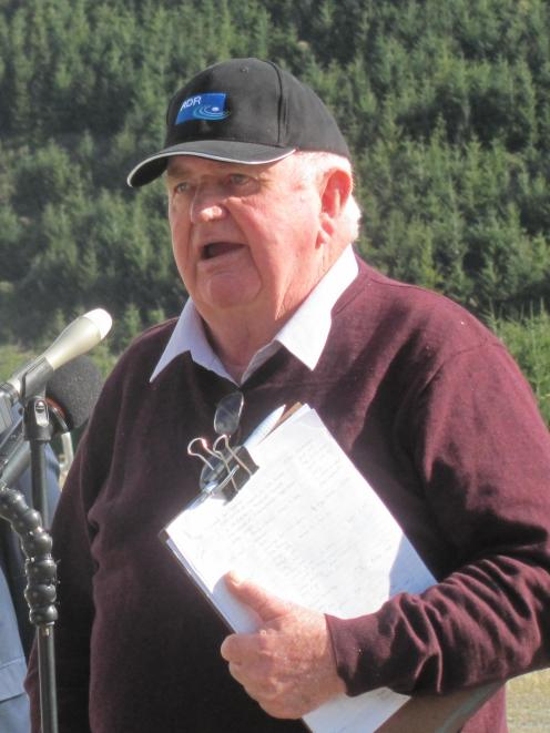 Dr Terry Heiler, of IPENZ, speaks about the engineering feat of the Rangitata Diversion Race.