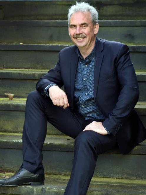 Dunedin architect Gary Todd. PHOTO: PETER MCINTOSH
