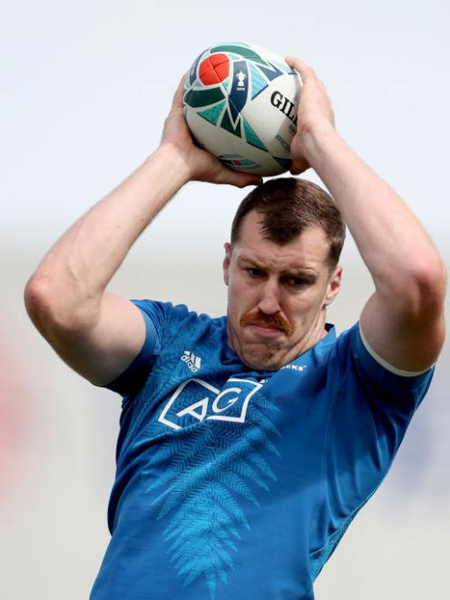 Brodie Retallick has been named to start at lock for the All Blacks against Ireland. Photo: Getty
