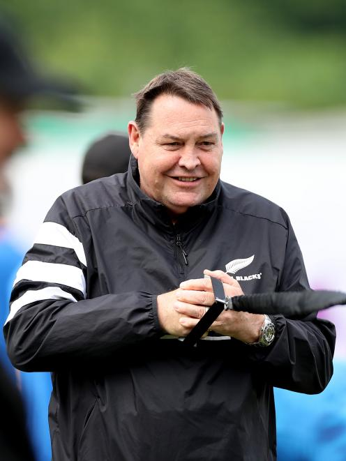 All Black head coach Steve Hansen says there are more important things than rugby. Photo: Getty...