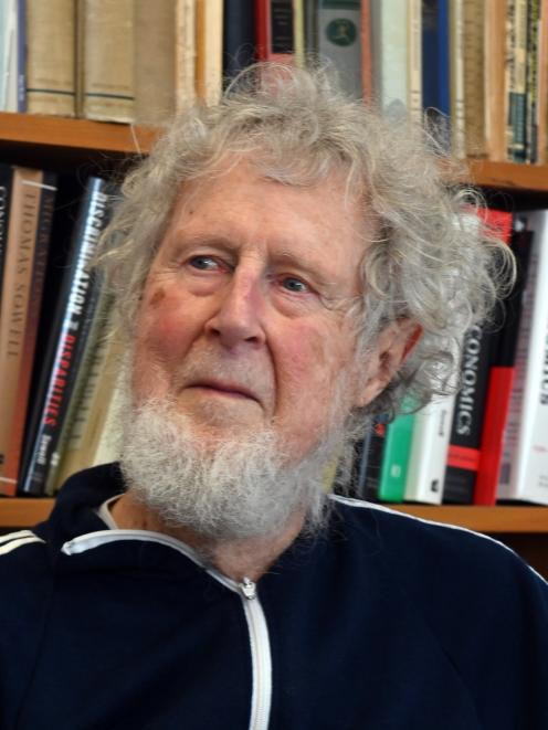 University of Otago Emeritus Prof Jim Flynn recently had his book rejected by a publisher. Photo:...