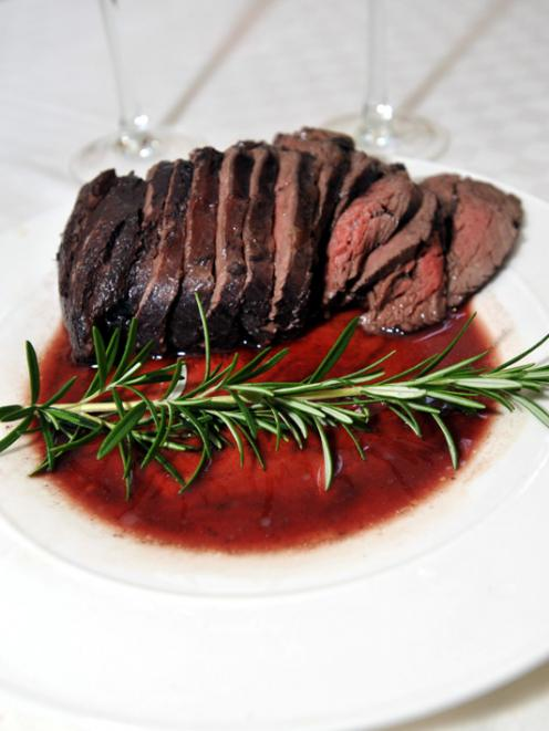 Mauro's beef in red wine. Photos by Gregor Richardson.