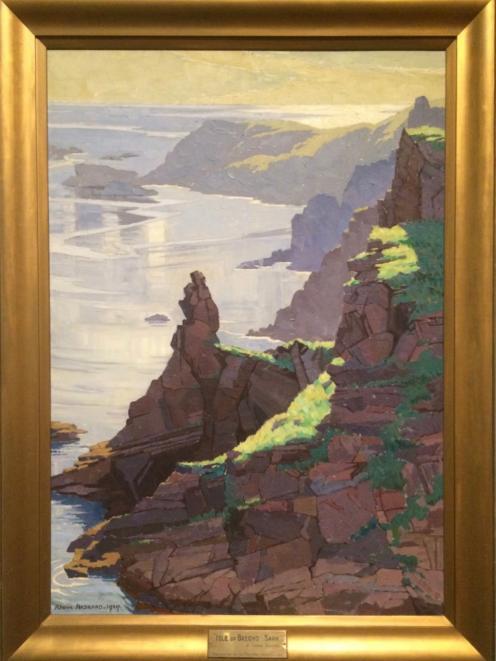 Isle of Brechou, Sark, by Rhona Haszard
