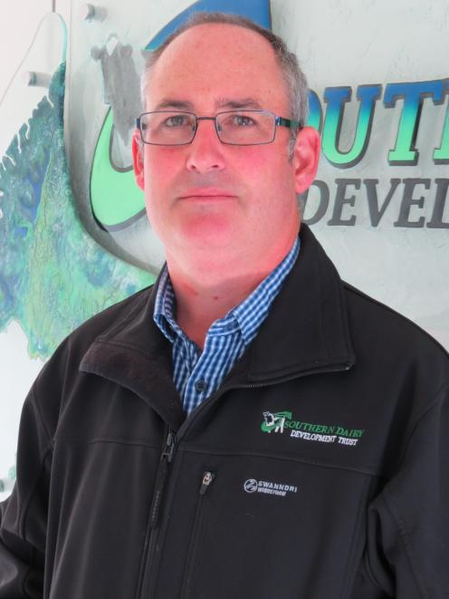 Southern Dairy Development Trust, (SDDT) chairman Tim Driscoll is keen to see the Southern Dairy Hub continue to be a world-class research facility. Photo: Yvonne O'Hara