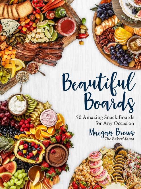 Beautiful Boards, by Maegan Brown, Rock Point Gift & Stationery RRP $27.99