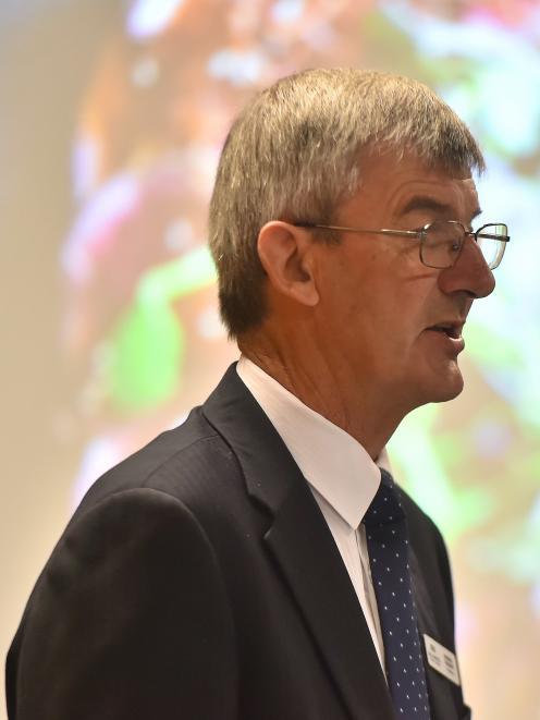 Alliance chairman Murray Taggart. Photo: Gregor Richardson