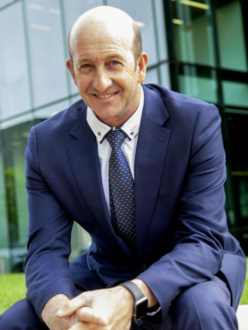 Chris Harris is currently an account manager for MediaWorks. PHOTO: GEOFF SLOAN