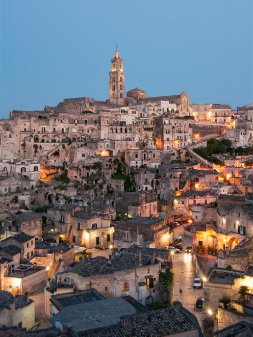 The troglodyte city of Matera in Basilicata, southern Italy. PHOTOS: GETTY IMAGES