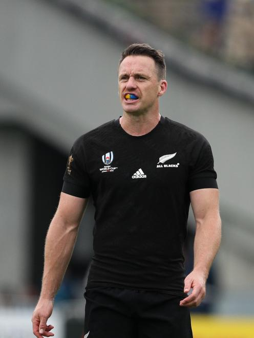 Ben Smith will get one last run out in the black jersey against Wales tonight. Photo: Getty Images
