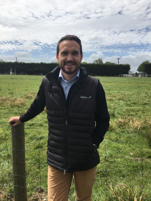 Ollie Knowles is DairyNZ's new Regional Leader Southland. Photo: DairyNZ