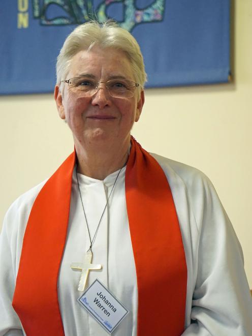 New Hakatere Presbyterian Parish minister Reverend Johanna Warren.