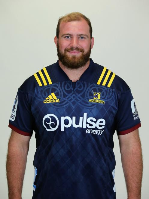 Greg Pleasants-Tate has ambitions to get back in the Highlanders squad. Photo: Getty Images