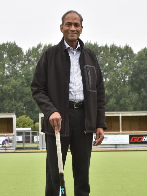 John Daniel at the McMillan Centre. PHOTO: GREGOR RICHARDSON