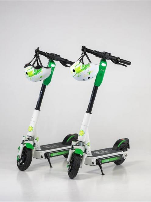 Lime-S 3rd generation scooter. Photo: Supplied