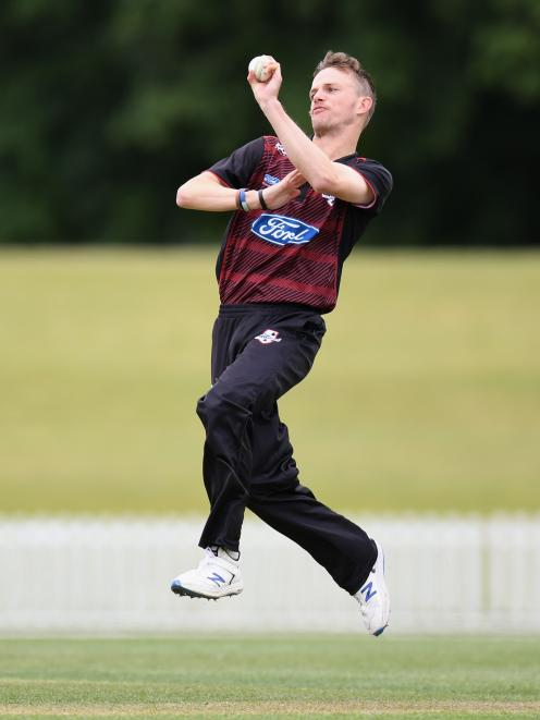 Andrew Hazeldine proved pivotal with the bat for Lancaster Park in the one-day premiership final.