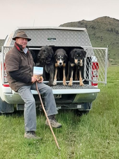 Sheep dog trainer and triallist Lloyd Smith has released a second edition of his Pup Pen to Paddock dog-training book. Photo: Bronnie Smith