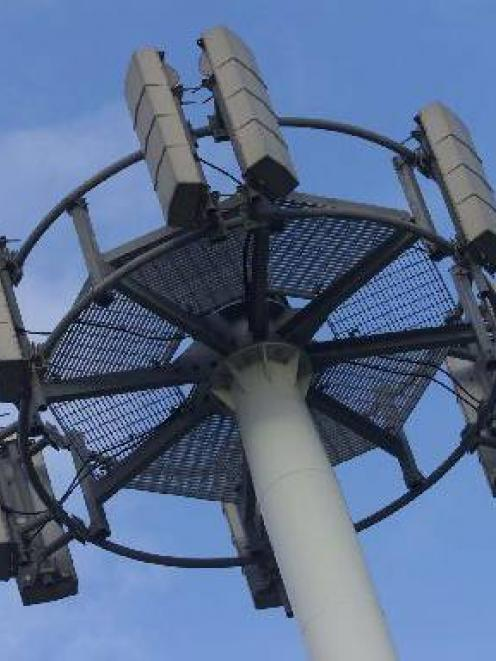 Photo: More than 170 cellphone towers were affected by yesterday's storm. Photo: NZ Herald