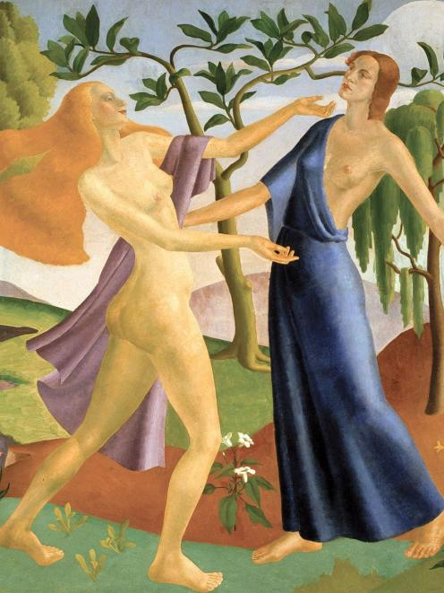 Persephone's Return to Demeter, by A. Lois White.