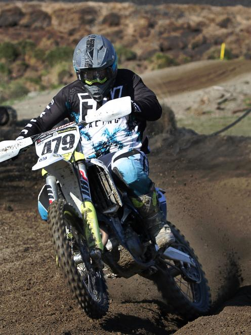 Balclutha's MX2 rider Madison Latta. PHOTO: JONATHAN COSGROVE