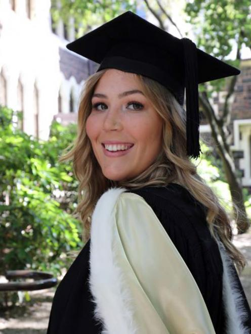 Georgie Northcoat's idea to turn textile waste into insulation is a finalist in the Callaghan Innovation C-Prize competition. Photo: Supplied