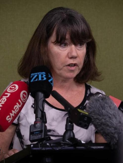 Director of Public Health Dr Caroline McElnay. Photo: RNZ