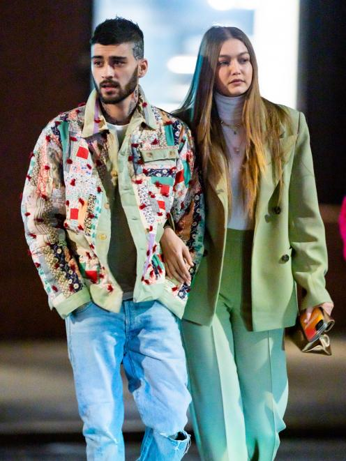 Zayn Malik and Gigi Hadid. Photos: Getty Images
