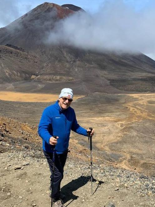 Gerd Wilde knew his final days were in front of him and he went on an adventure halfway around the world. Photo: Supplied