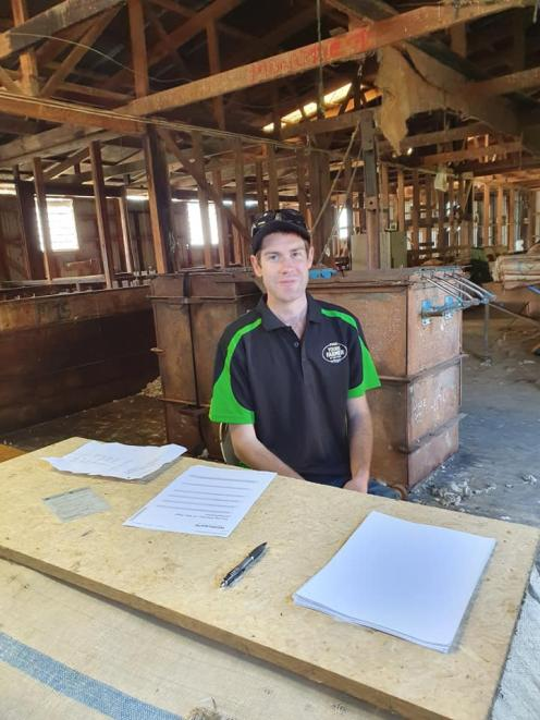 Chairman Hamish Holland takes the top spot for Timaru's Young Farmer of the Year competition....