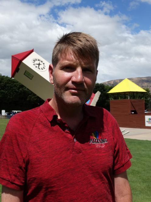 Puzzling World marketing manager Duncan Spear reflects on the coronavirus effect on his business. Photo: Mark Price