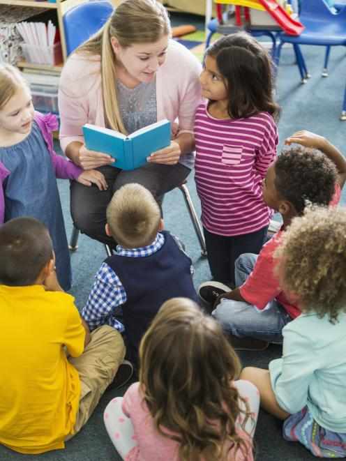 There is a severe shortage of qualified early education teachers in New Zealand, and more are leaving. Photo: Getty Images