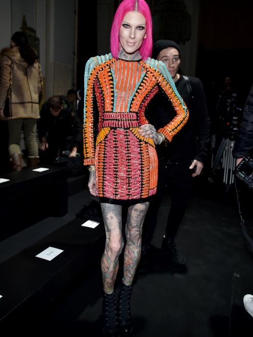 Social media influencer and make-up artist Jeffree Star. Photo: Getty Images