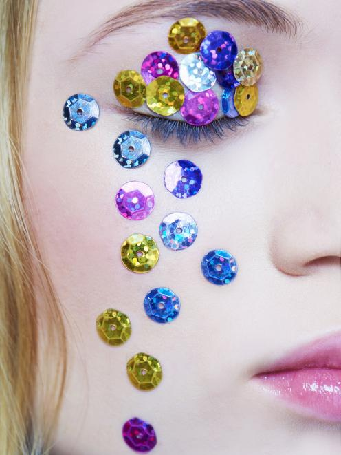 Plastic sequins are often seen as a throwaway fashion item. Photo: Getty Images