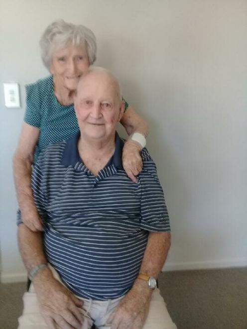 Chub and Rita have been married 77 years. Photo: Supplied