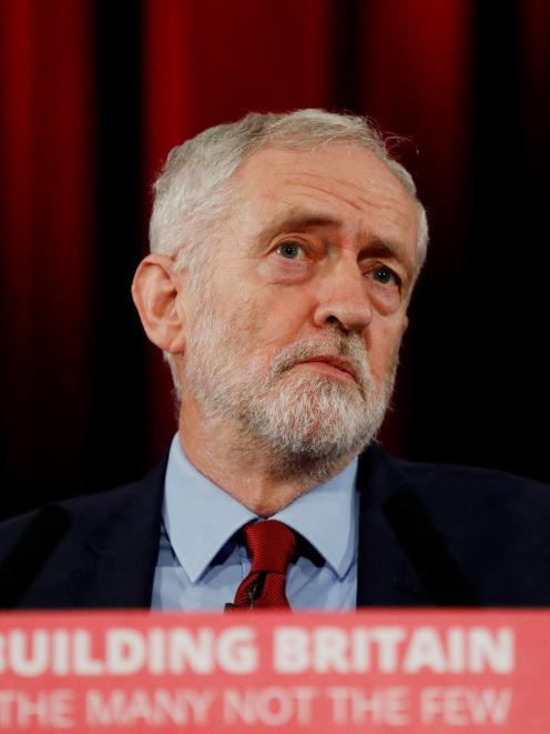 Labour Party leader Jeremy Corbyn .Photo: Reuters