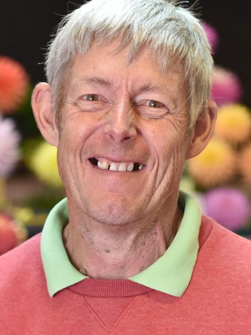 Dunedin Summer Flower Show manager Neil Judd, who has been gardening for more than 40 years....