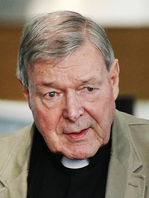 Catholic Cardinal George Pell will remain in prison. Photo: Getty