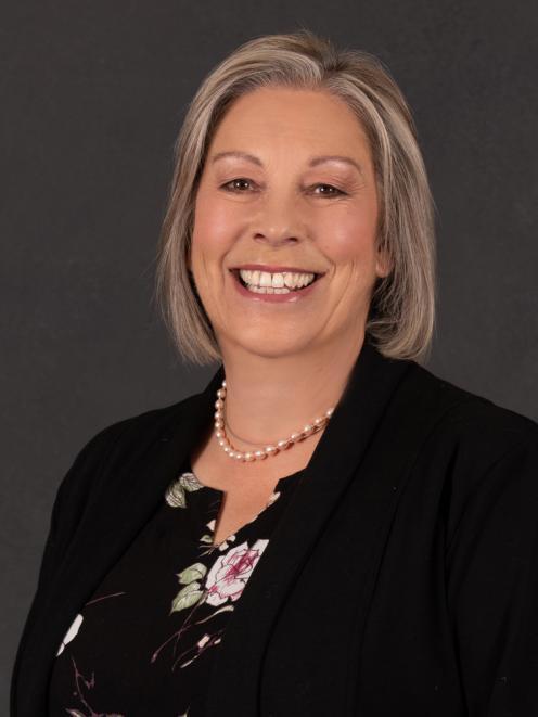 Ashburton Biodiversity Advisory Group chair Caption Lynette Lovett.