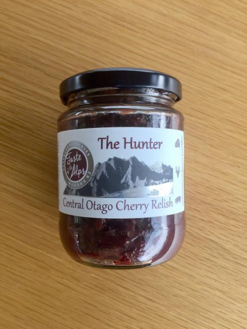 Taste of the Alps' Central Otago Cherry Relish.